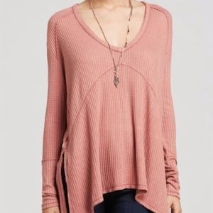 """NWT Free People """"Sunset Park"""" Rosewood Thermal"""